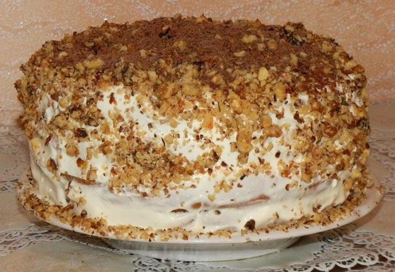Торт сметанник домашний рецепт с фото